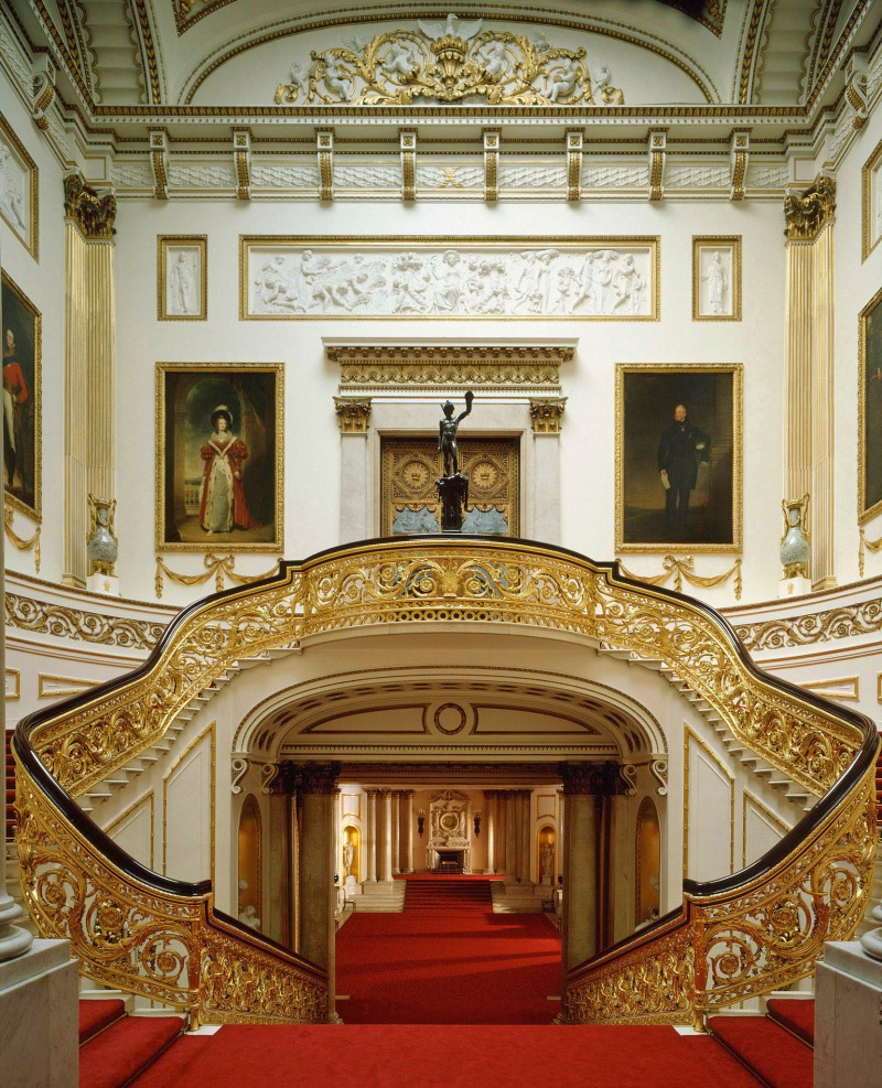 The State Rooms at Buckingham Palace