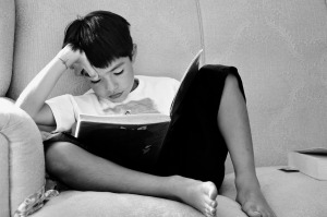 Top Ten Tips to get Children into Books