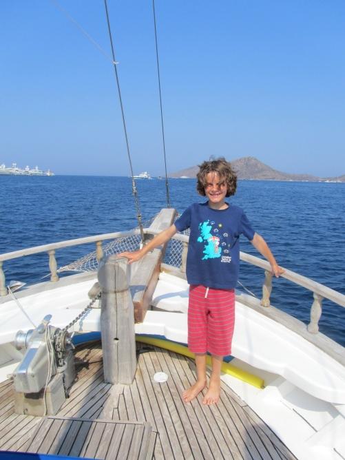 Gulet cruise, Turkey