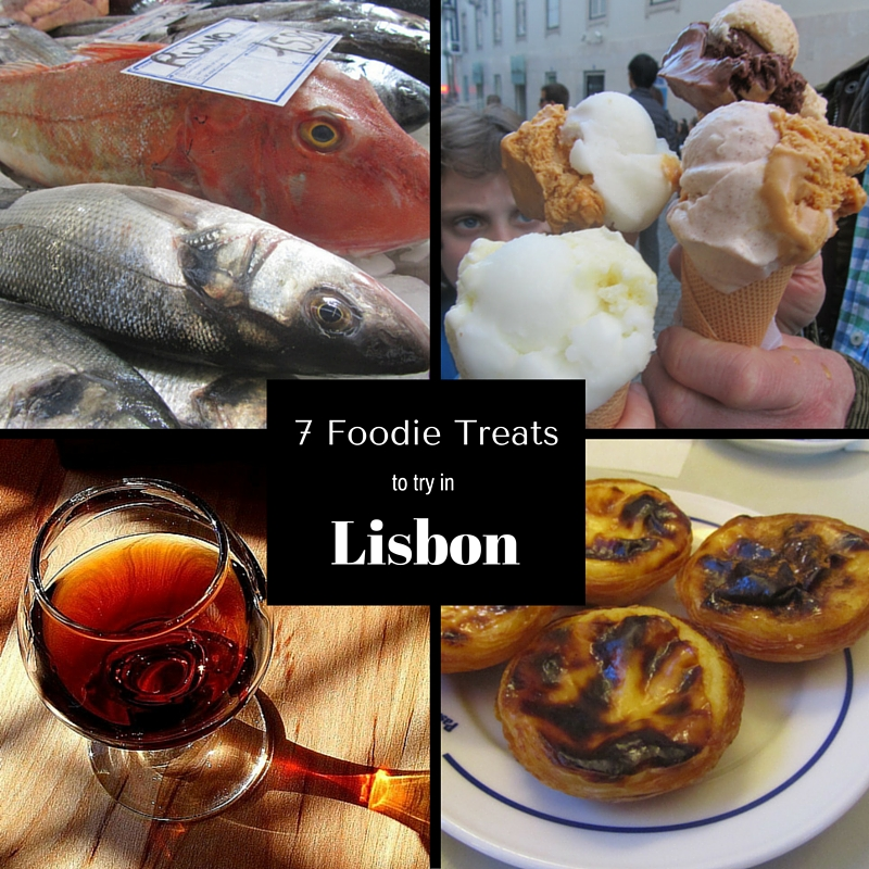 Seven Foodie Treats to try in Lisbon
