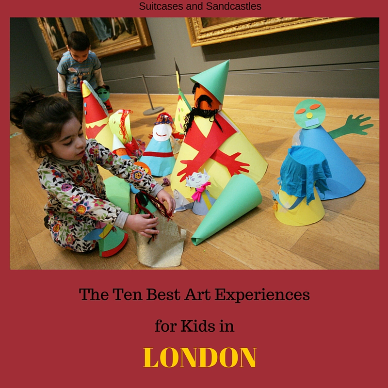The 10 Best Art Experiences for Kids in London
