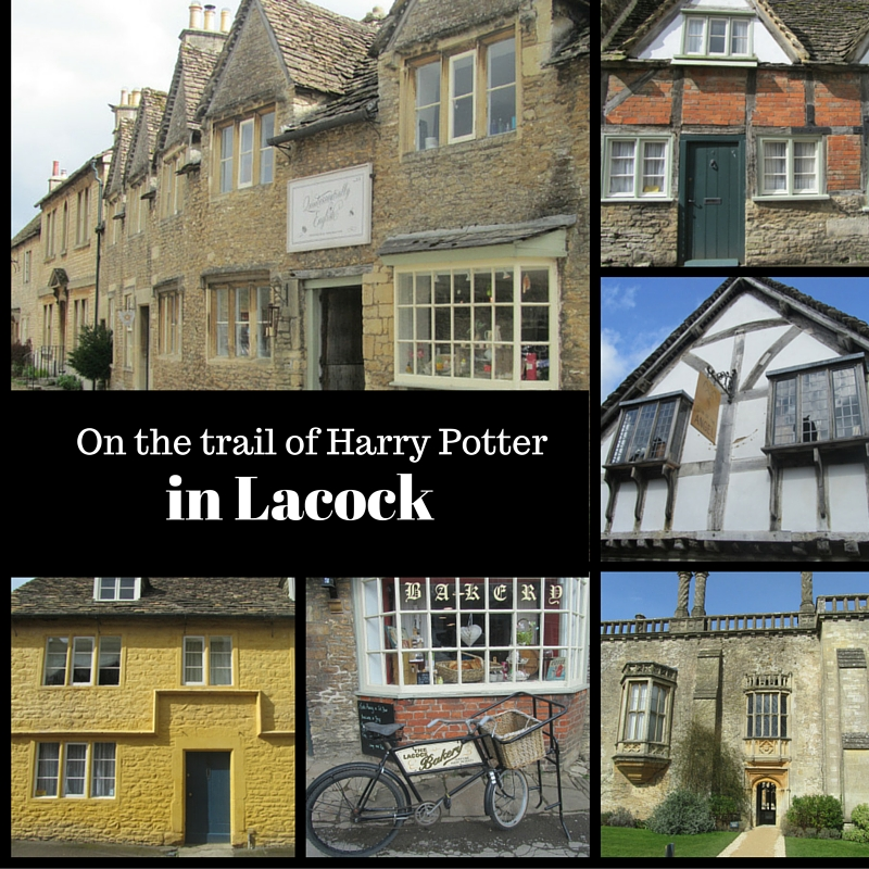On the trail of Harry Potter in Lacock