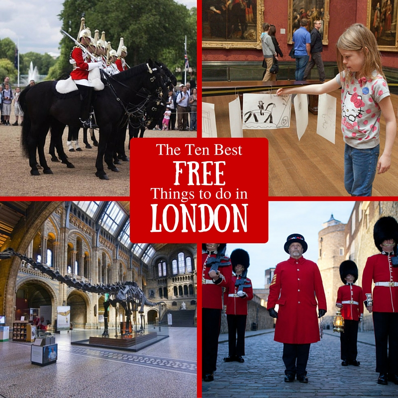 The Ten Best Free Things to do in London