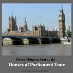 Eleven Things to Spot on the Houses of Parliament Tour